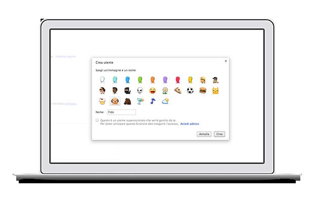 Chrome - Utenti e Sincronizzazione